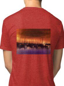 San Diego Harbor Midnight Moon Tri-blend T-Shirt