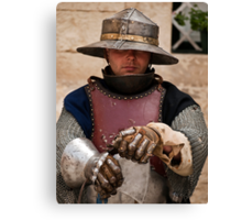 The Knight Canvas Print