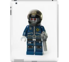 Zombie Cop Minifig iPad Case/Skin