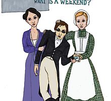 Weekend at Downton by neuroticowl