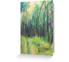 Wald (pastel) Greeting Card