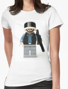 Rebel Trooper from the Wars in the Star Womens Fitted T-Shirt