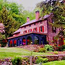 The former home of Daniel Garber..... by DaveHrusecky