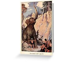 The Trail Book by Mary Hunter Austin art Milo Winter 1918 0010 Arr rr ump Greeting Card