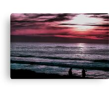 Early Evening at Pescadero Canvas Print