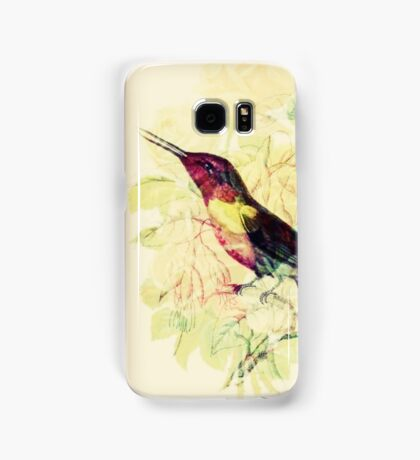 Charming Bird - Digital Art Print  Samsung Galaxy Case/Skin