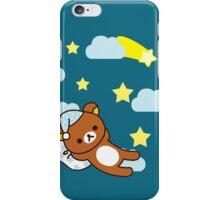 Starry Night ~ Rilakkuma  iPhone Case/Skin