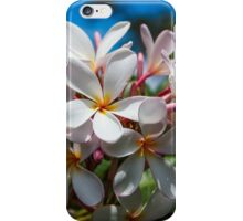 Plumerias iPhone Case/Skin