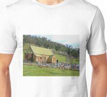 St Andrews Anglican Church, Ellendale, Tasmania, Australia Unisex T-Shirt