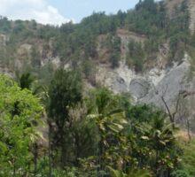 a historic Timor-Leste landscape Sticker