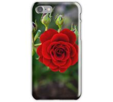 Red and her Buds iPhone Case/Skin