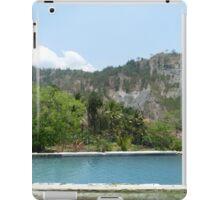 a historic Timor-Leste landscape iPad Case/Skin
