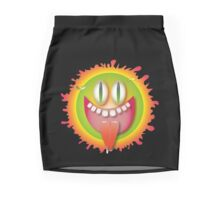 goofy sunshine Mini Skirt