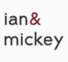 Ian & Mickey Kids Tee