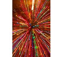 Crazy Fun Colorful Abstract Photographic Print