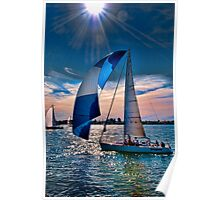 New Year's Day Sail Poster