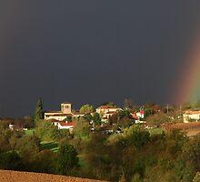 Village of Bourlens - Lot et Garonne, France by Paul Sims
