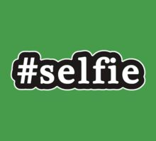 Selfie - Hashtag - Black & White Kids Clothes