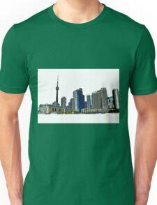 Toronto Skyline Graphic with CN Tower Unisex T-Shirt