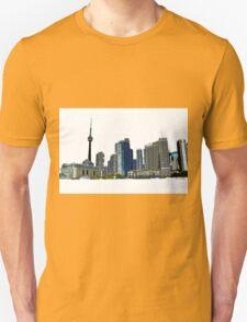 Toronto Skyline Graphic with CN Tower T-Shirt