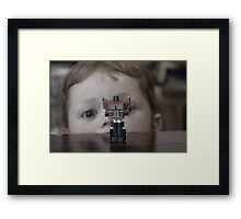 Watching Optimus Framed Print