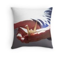 Holding Hope In Your Hands  Throw Pillow