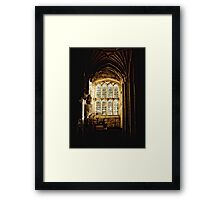 Church Window Detail Framed Print