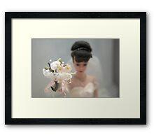 Barbie Bride  Framed Print