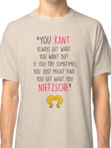 Hedwig, Kant & Nietzsche Classic T-Shirt