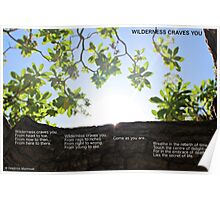 Wilderness craves you Poster