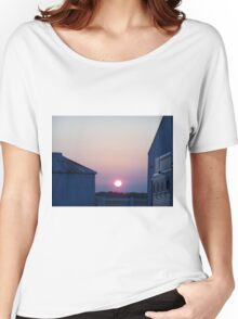 Sunrise at the Farm Women's Relaxed Fit T-Shirt