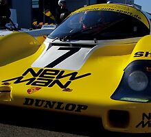 Porsche 956  by marc melander