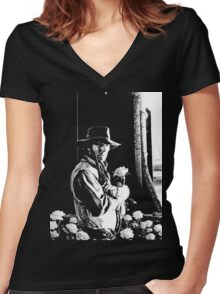 Son of Gilead Women's Fitted V-Neck T-Shirt