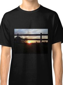 Countryside Sunrise Classic T-Shirt