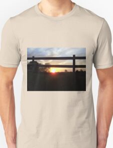 Countryside Sunrise Unisex T-Shirt