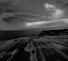 Kernell, Sutherland, storm over Pacific Jan 2 2010 by iami