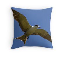 Sooty Tern Throw Pillow