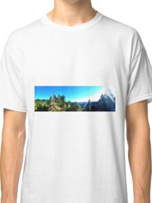 View From The Top Panoramic Classic T-Shirt