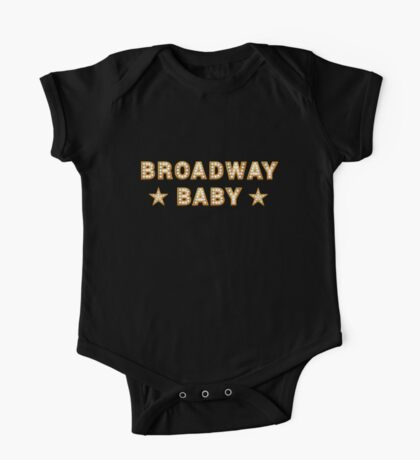 Broadway Baby One Piece - Short Sleeve