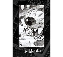 Eye Monster from the book Photographic Print