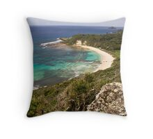 Neds Beach, Lord Howe Island Throw Pillow