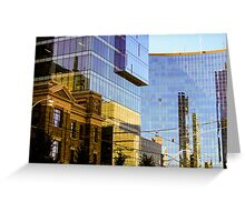 Reflected Tdot Greeting Card