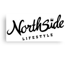 Northside White Crown Canvas Print