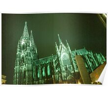 The Cathedral of Cologne. Poster