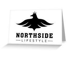 NSL White Bird Greeting Card