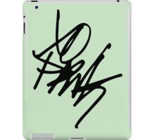 Frank Iero Autograph iPad Case/Skin