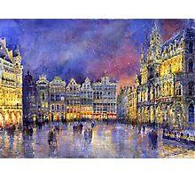 Belgium Brussel Grand Place Grote Markt Photographic Print