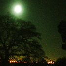 Moon over Lytchett Minster by Songwriter