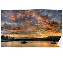 Sailors Delight - Newport - The HDR Experience Poster