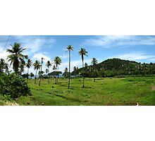 a wonderful Trinidad and Tobago landscape Photographic Print